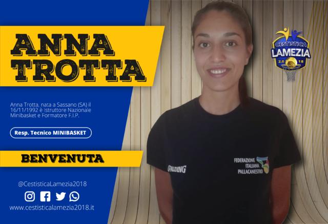 """La Cestistica """"Lamezia (si mette) in Gioco"""". Firmato l'Istruttore Nazionale Anna Trotta!!"""